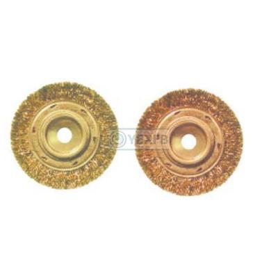 Non Sparking Wheel Brush,Crimped Wire - OY6289A