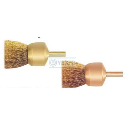 Non Sparking Brush,End,Crimped Wire - OY6290B