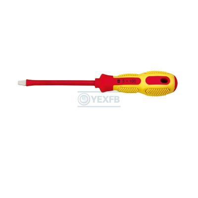 1000V Insulated Slotted Screwdriver - OY67101