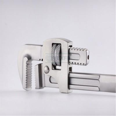 """Stainless Steel Hand Tools Pipe Wrench 12"""" Ss 304, Ss 420, SS316 New Type"""