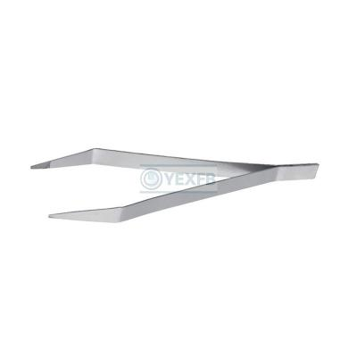 Industry Stainless Steel Tweezers Flat Nose - OY68308