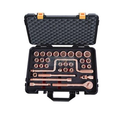 "Non-Sparking Socket Set 32Pcs, 1/2"" Drive , 12 Point -OY6101J"