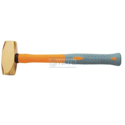 Brass Hammer Flat,Fiberglass Handle - OY62107