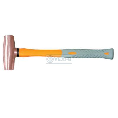 Copper Hammer Mallet, Fiberglass Handle - OY62202